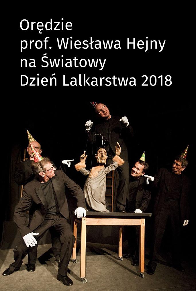 Orędzie prof. Wiesława Hejny na Światowy Dzień Lalkarstwa