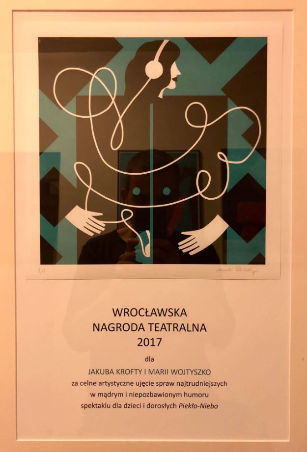 Wrocławska Nagroda Teatralna dla Jakuba Krofty <br> i Marii Wojtyszko