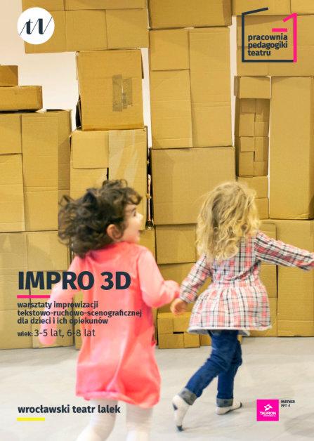 Niedziela 19.05 <br> Warsztaty dla dzieci Impro 3D